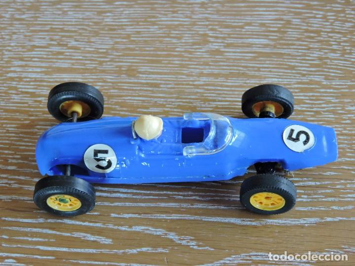 COCHE SCALEXTRIC COOPER MM C.66 AZUL (Juguetes - Slot Cars - Scalextric Exin)
