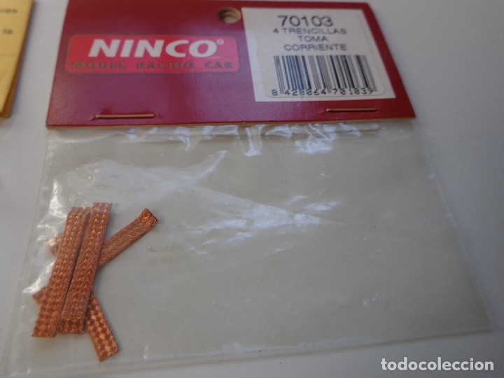 Scalextric: LOTE 6 BLISTER RECAMBIOS ORIGINALES SCALEXTRIC EXIN Y NINCO, NUEVO - Foto 6 - 156289478
