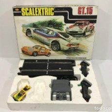 Scalextric: SCALEXTRIC CIRCUITO EXIN GT-15 CON UN COCHE LANCIA STRATOS REF. 4055. Lote 156514402
