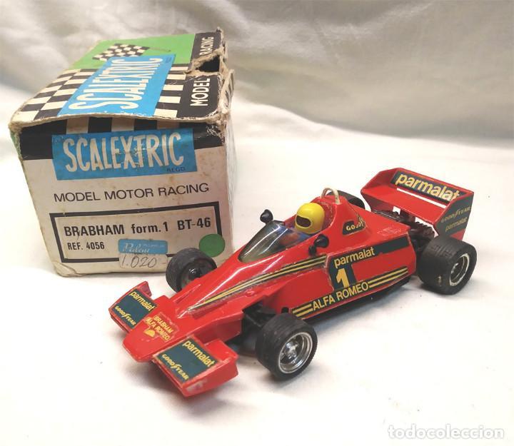 BRABHAM BT 46 DE EXIN SCALEXTRIC REF 4056 AÑOS 70 CON CAJA (Juguetes - Slot Cars - Scalextric Exin)