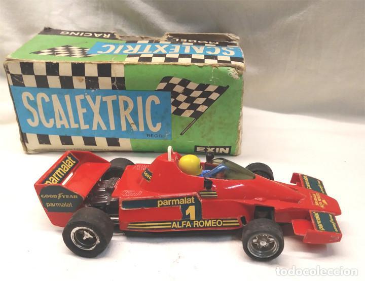 Scalextric: Brabham BT 46 de Exin Scalextric Ref 4056 años 70 con caja - Foto 3 - 157657306