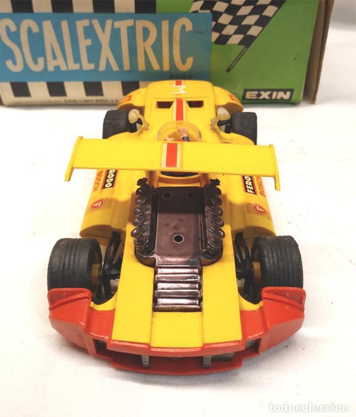 Scalextric: Sigma Ref C 47 Amarillo de Exin Scalextric con caja años 70 - Foto 4 - 157657406