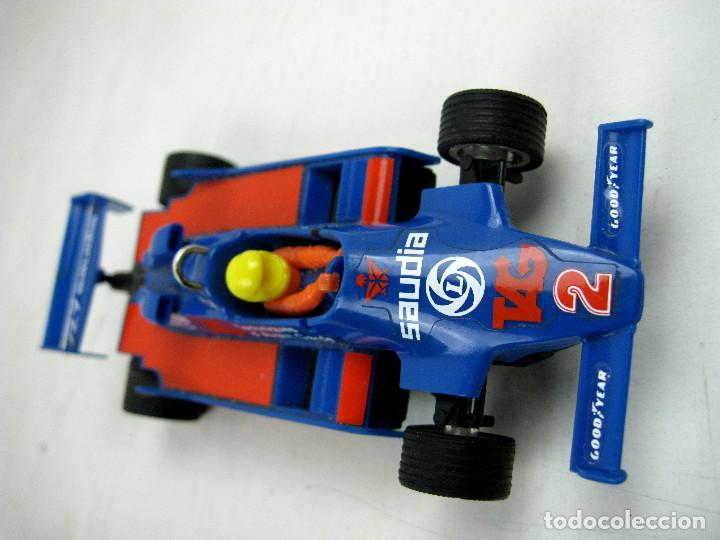 SCALEXTRIC WILLIAMS FW- 07 FORMULA 1 REF. 4068 AZUL MADE IN SPAIN - SIN CAJA (Juguetes - Slot Cars - Scalextric Exin)