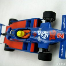 Scalextric: SCALEXTRIC WILLIAMS FW- 07 FORMULA 1 REF. 4068 AZUL MADE IN SPAIN - SIN CAJA. Lote 157860966
