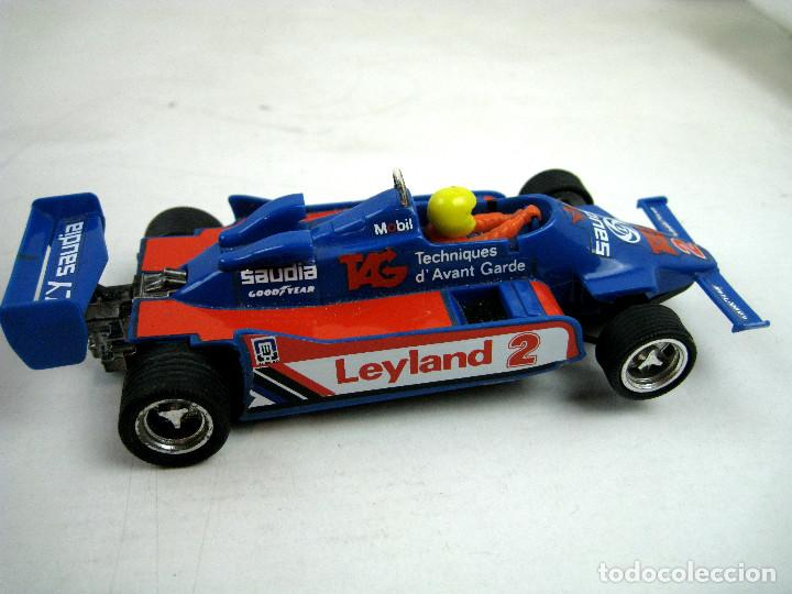 Scalextric: SCALEXTRIC WILLIAMS FW- 07 FORMULA 1 REF. 4068 AZUL MADE IN SPAIN - SIN CAJA - Foto 2 - 157860966