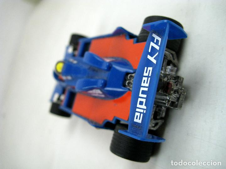 Scalextric: SCALEXTRIC WILLIAMS FW- 07 FORMULA 1 REF. 4068 AZUL MADE IN SPAIN - SIN CAJA - Foto 3 - 157860966