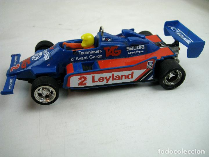 Scalextric: SCALEXTRIC WILLIAMS FW- 07 FORMULA 1 REF. 4068 AZUL MADE IN SPAIN - SIN CAJA - Foto 4 - 157860966
