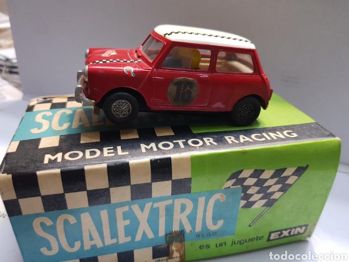 Scalextric: Coche Scalextric Exin Mini Cooper C-45 en caja original - Foto 2 - 157864716