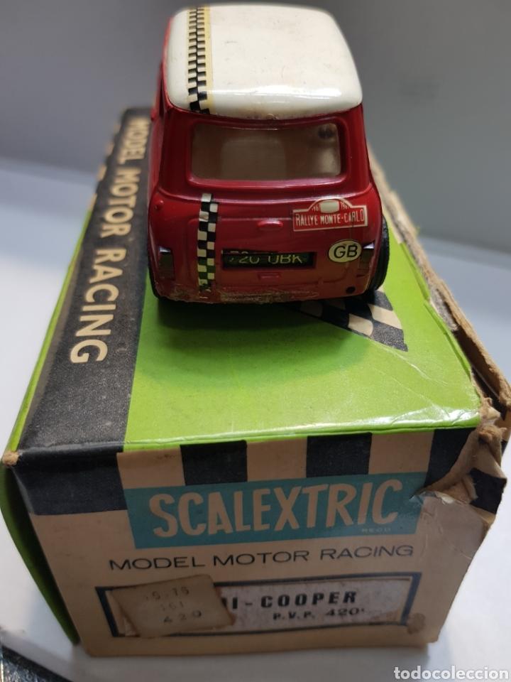 Scalextric: Coche Scalextric Exin Mini Cooper C-45 en caja original - Foto 3 - 157864716