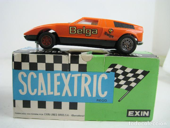 SCALEXTRIC EXIN MERCEDES WANKEL C-111 REF. 4044 MADE IN SPAIN - CON CAJA (SIN CARTÓN INTERIOR) (Juguetes - Slot Cars - Scalextric Exin)