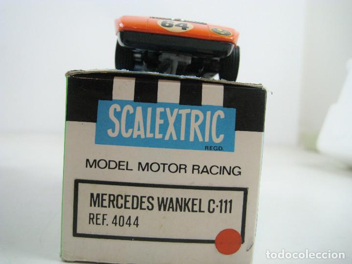 Scalextric: SCALEXTRIC EXIN MERCEDES WANKEL C-111 REF. 4044 MADE IN SPAIN - CON CAJA (sin cartón interior) - Foto 2 - 157877878