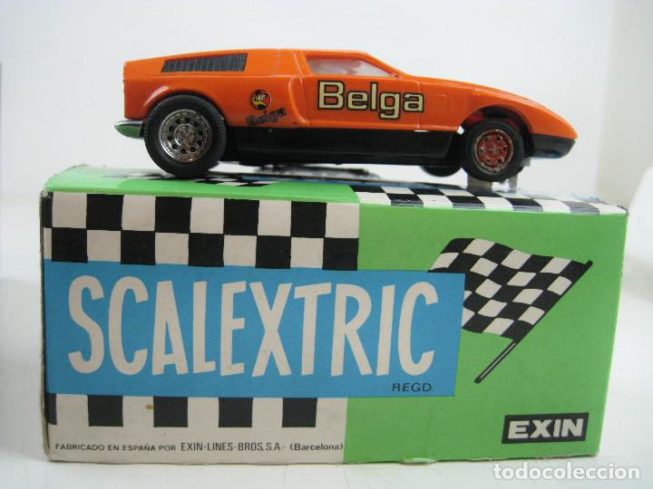 Scalextric: SCALEXTRIC EXIN MERCEDES WANKEL C-111 REF. 4044 MADE IN SPAIN - CON CAJA (sin cartón interior) - Foto 3 - 157877878
