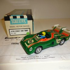 Scalextric - Scalextric. Exin. Alpine Renault 2000 turbo verde. Ref. 4053 - 157955250
