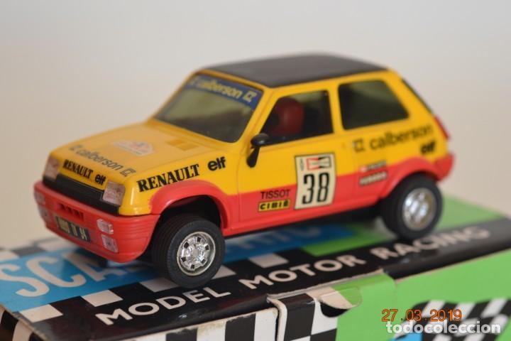 RENAULT 5 ALPINE CALBERSON (Juguetes - Slot Cars - Scalextric Exin)