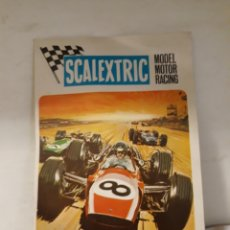 Scalextric: SCALEXTRIC EXIN FOLLETO PUBLICIDAD COCHES. Lote 158290480