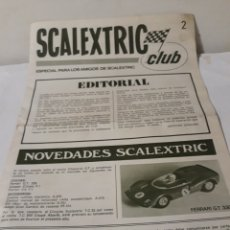Scalextric: SCALEXTRIC REVISTA CLUB N 2. Lote 158302544