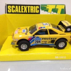 Scalextric: SLOT,SCALEXTRIC 7303, PEUGEOT 405 Nº 204, PARIS-DAKAR, TT. Lote 159626818