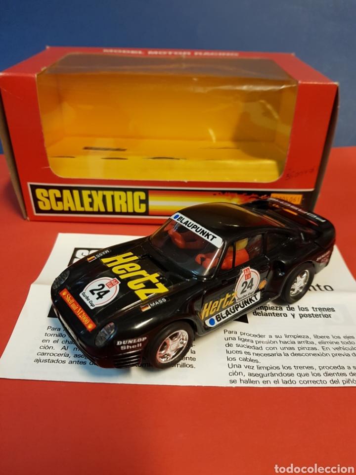 PORSCHE 959 SCALEXTRIC EXIN NUEVO (Juguetes - Slot Cars - Scalextric Exin)