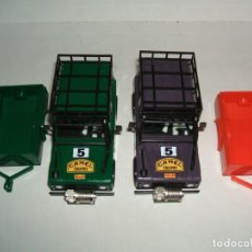 Scalextric: LOTE 2 CARROCERIAS LAND ROVER STS CON REMOLQUE. Lote 159844126