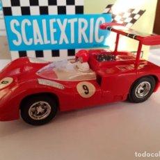 Scalextric: SCALEXTRIC EXIN CHAPARRAL ROJO AÑOS 70 EN PERFECTO ESTADO. Lote 159877494