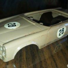 Scalextric: MERCEDES 250 SL EXIN. CARROCERÍA BEIGE ORIGINAL. DESGUACE. Lote 159935858