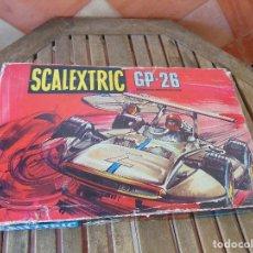 Scalextric: CAJA CIRCUITO GP 26 DE LOS SIGMA DE SCALEXTRIC EXIN CON LOS COCHES Y DOCUMENTACION. Lote 160004410