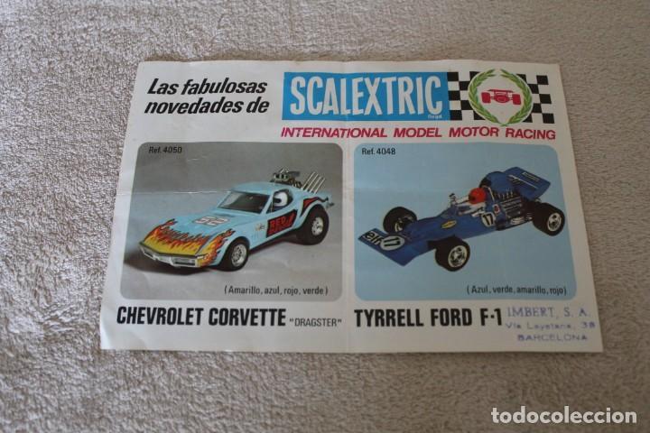Scalextric: LOTE 4 FOLLETOS SCALEXTRIC NOVEDADES RACING CIRCUITS Y CTALOGO TRAMOSY ACCESORIOS - Foto 10 - 160024194