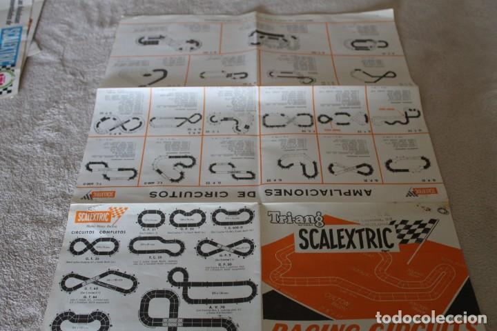 Scalextric: LOTE 4 FOLLETOS SCALEXTRIC NOVEDADES RACING CIRCUITS Y CTALOGO TRAMOSY ACCESORIOS - Foto 12 - 160024194