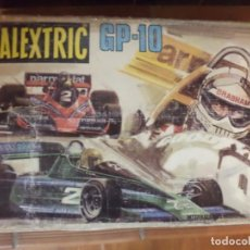 Scalextric: CIRCUITO SCALEXTRIC EXIN GP 10,CON 2 BRABHAM BT 46.. Lote 160523810