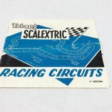 Scalextric: SCALEXTRIC EXIN TRIANG RACING CIRCUITS 5º EDICION - ABRIL 68. Lote 160855754