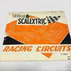 Scalextric: SCALEXTRIC EXIN TRIANG RACING CIRCUITS 7º EDICION - NOVIEMBRE 70. Lote 160856262