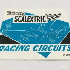 Scalextric: SCALEXTRIC EXIN TRIANG RACING CIRCUITS 5º EDICION - ABRIL 68. Lote 160859634