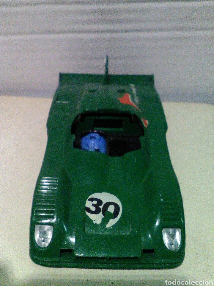 Scalextric: Renault alpine 2000 turbo verde scalextric exin para piezas - Foto 3 - 162265854