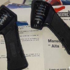 Scalextric: LOTE 2 MANDOS CONTROL VELOCIDAD ALTA SENSIBILIDAD SCALEXTRIC EXIN CON INTRUCCIONES. Lote 162340960