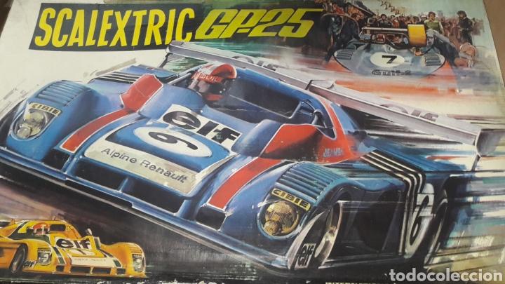 CAJA E INSTRUCCIONES SCALEXTRIC GP 25 EXIN (Juguetes - Slot Cars - Scalextric Exin)