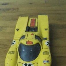 Scalextric: COCHE EXIN SCALEXTRIC PORSCHE 917 AMARILLO REF.C-46. Lote 162394726