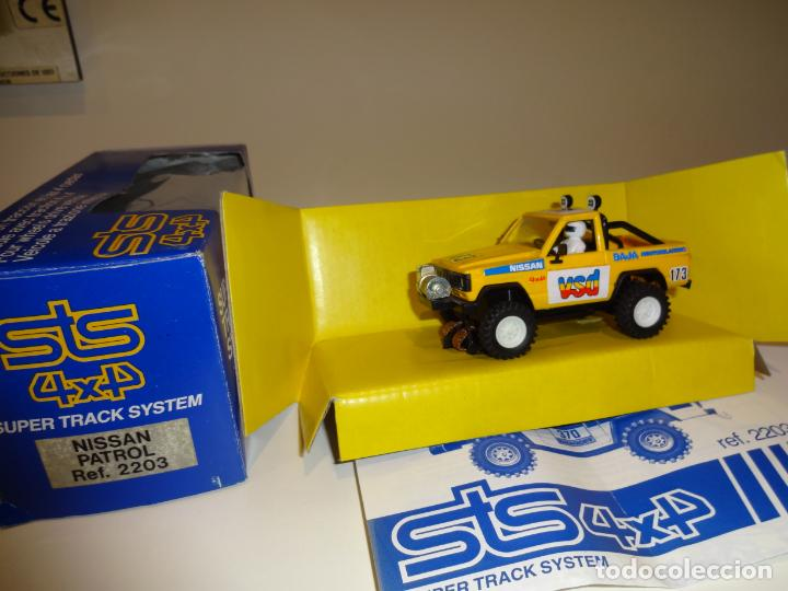 scalextric exin nissan patrol amarillo ref sold through direct sale 162496918 comics and tebeos