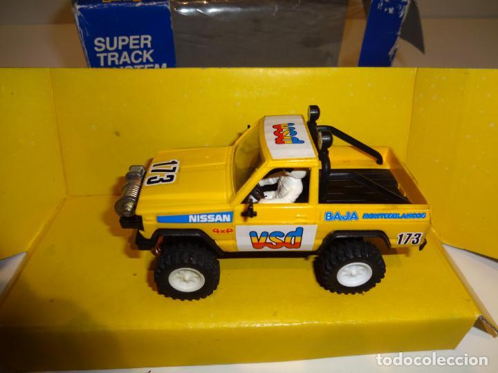 scalextric exin nissan patrol amarillo ref sold through direct sale 162497218 todocoleccion