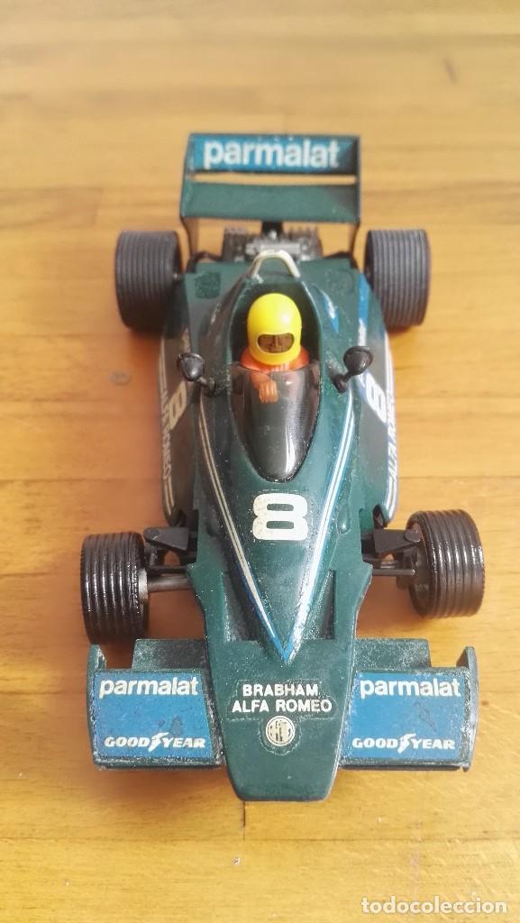 Scalextric: Coche exin scalextric Brabham BT46 parmalat verde ref. 4056 nº8 - Foto 2 - 162975862