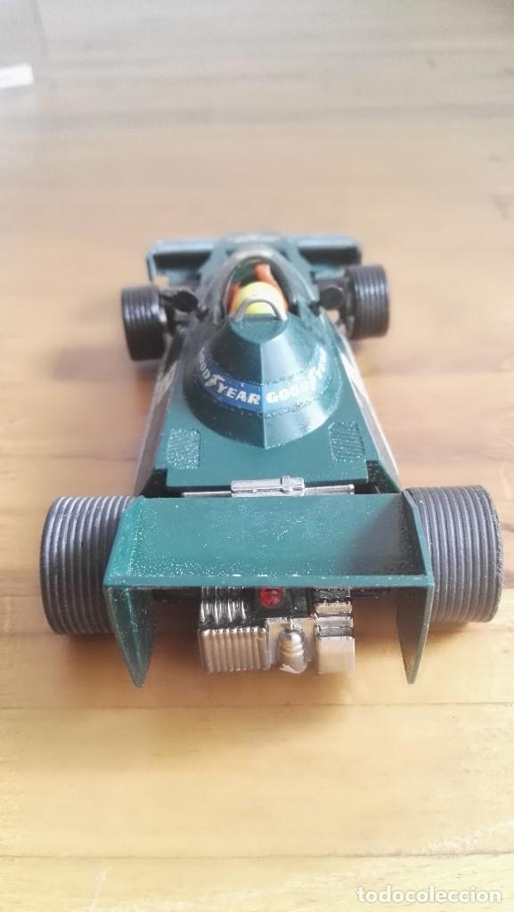Scalextric: Coche exin scalextric Brabham BT46 parmalat verde ref. 4056 nº8 - Foto 4 - 162975862