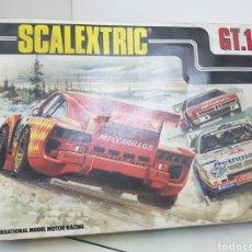 Scalextric: CAJA VACÍA SCALEXTRIC GT 10 EXIN. Lote 163735644