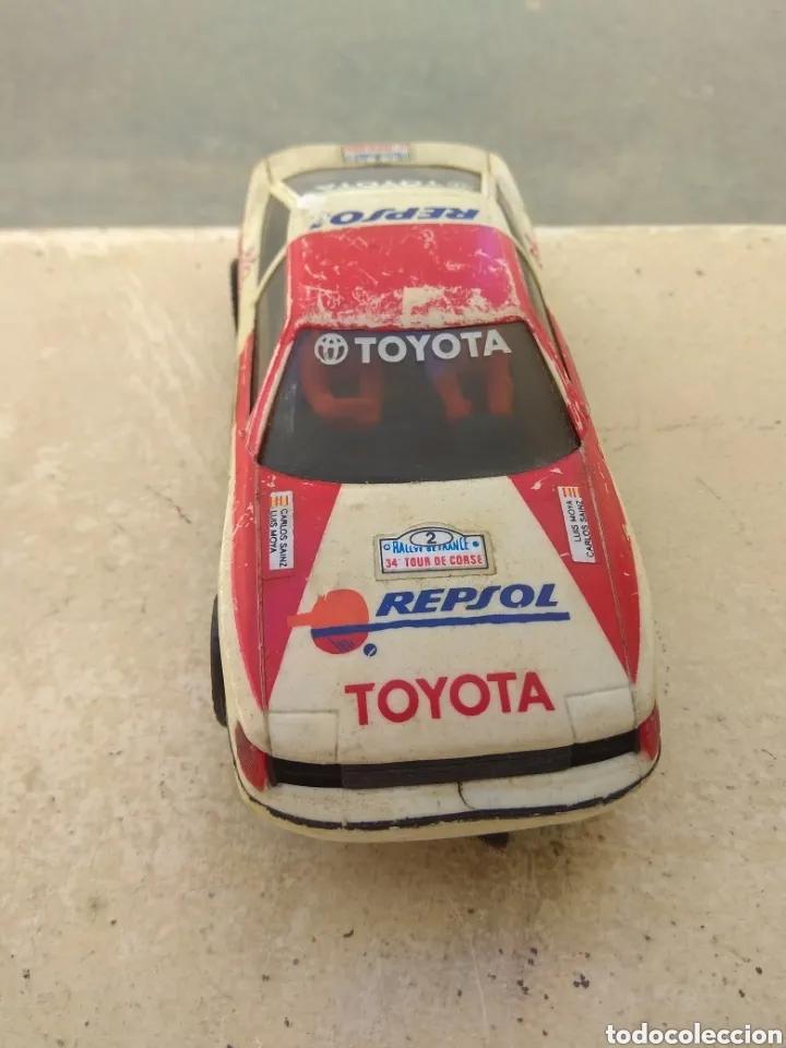 Scalextric: Toyota Celica - Scalextric Exin - Logo Invertido - - Foto 2 - 163956380