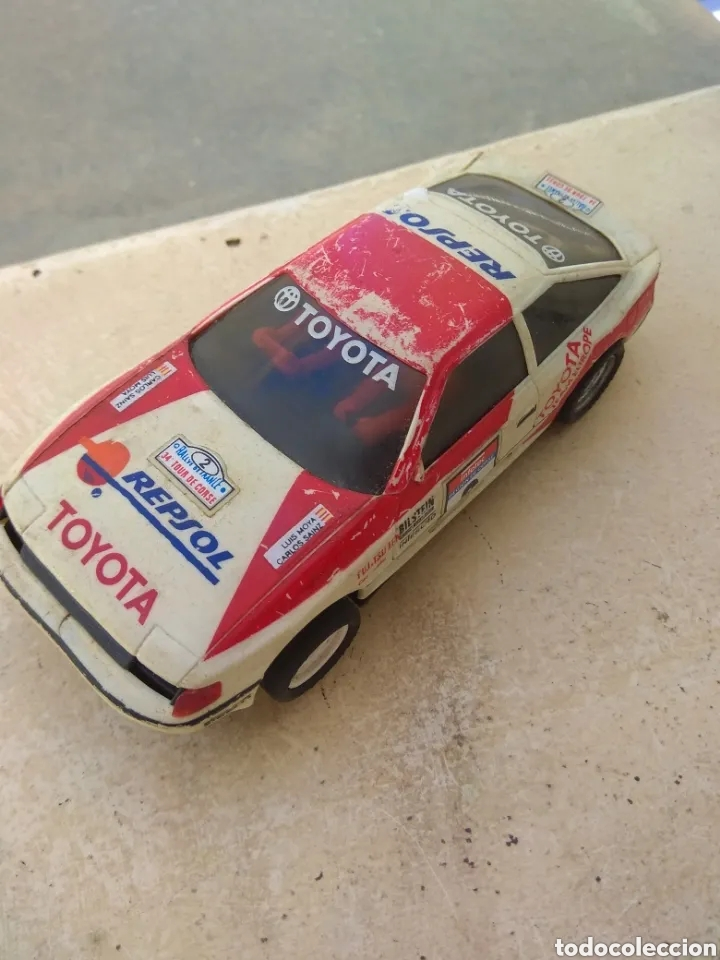 TOYOTA CELICA - SCALEXTRIC EXIN - LOGO INVERTIDO - (Juguetes - Slot Cars - Scalextric Exin)