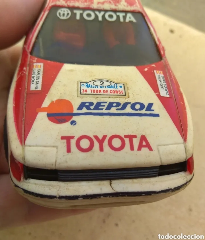 Scalextric: Toyota Celica - Scalextric Exin - Logo Invertido - - Foto 10 - 163956380