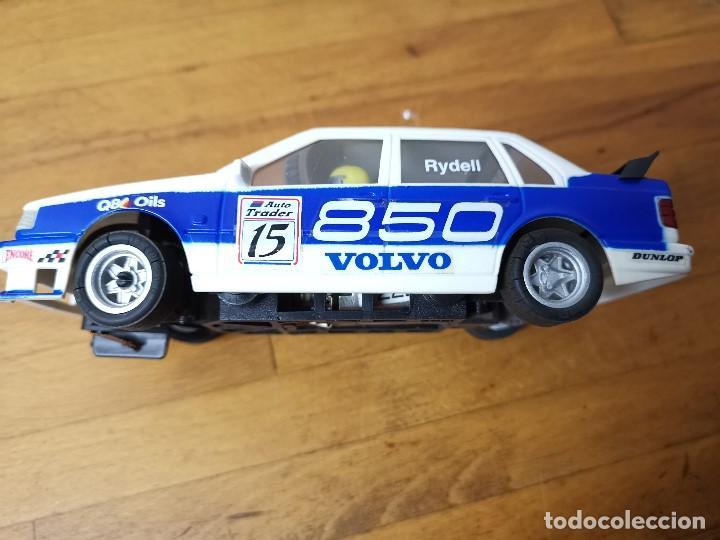 Scalextric: Coche scalextric Exin Volvo SRS de 1996 ref.8391-09 Neumáticos agrietados - Foto 5 - 163957958