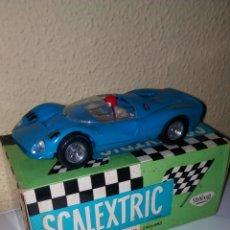 Scalextric: SCALEXTRIC EXIN. FERRARI GT 330 AZUL. CAJA ORIGINAL E INSTRUCCIONES. Lote 164265318