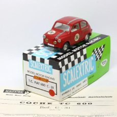 Scalextric: TC SEAT 600 RACE TUNED TIPO 1 SCALEXTRIC EXIN CON CAJA REPRO. Lote 164813650