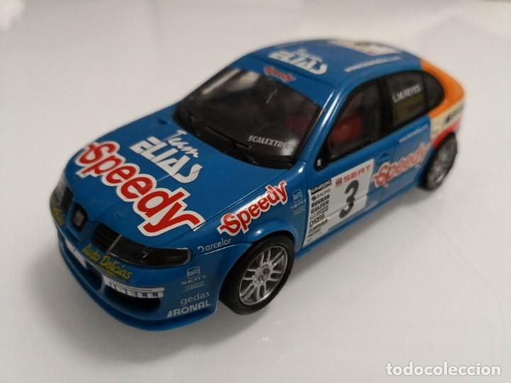 SEAT LEON SPEEDY SCALEXTRIC (Juguetes - Slot Cars - Scalextric Exin)