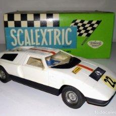 Scalextric: COCHE SCALEXTRIC EXIN MERCEDES WANKEL C-111 BLANCO EN CAJA. Lote 165320658