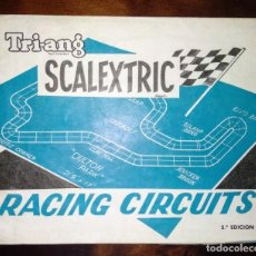 Scalextric: CATALOGO DESPLEGABLE RACING CIRCUITS CIRCUITOS SCALEXTRIC EXIN TRIANG 1968 5º EDICION ANTIGUO. Lote 165512930